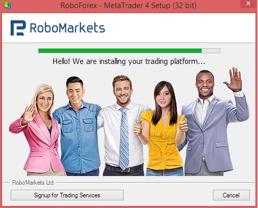 Download and Install Roboforex Metatrader 4