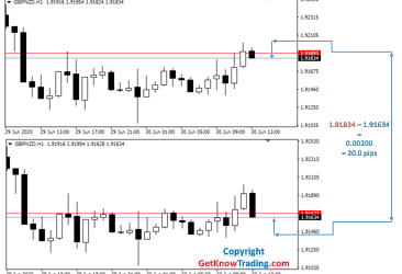 what is 20 pips in forex